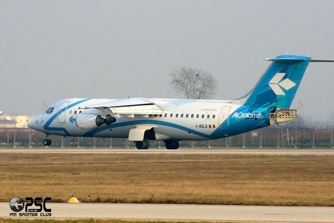 BAe 146 / Avro RJ - MSN 3149 - I-ADJI @ Aeroporto di Verona © Piti Spotter Club Verona