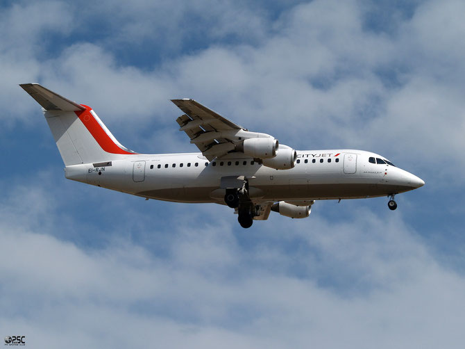 EI-RJN BAe146-RJ85 E2351 CityJet