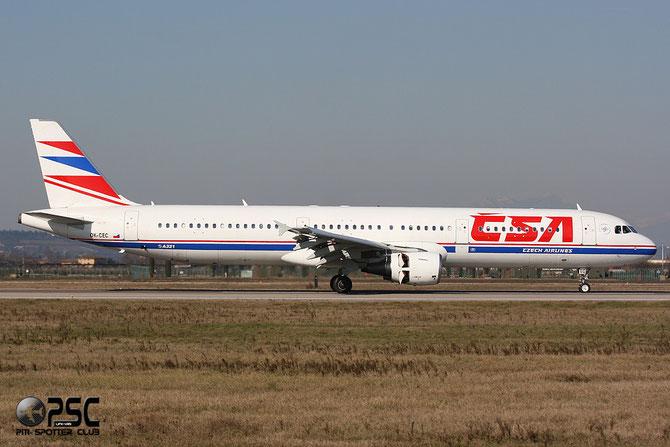 OK-CEC A321-211 674 CSA Czech Airlines