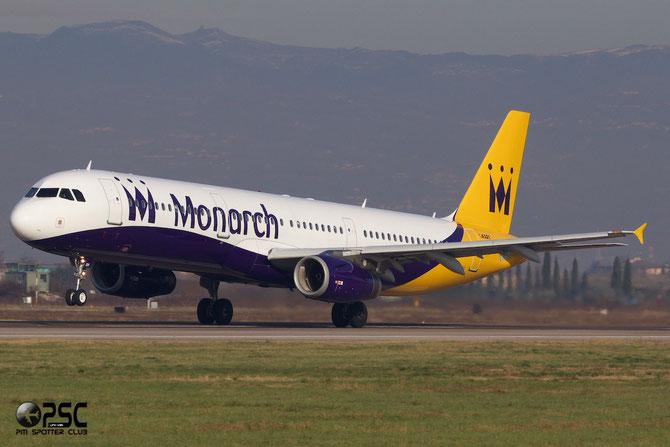 G-OZBH A321-231 2105 Monarch Airlines @ Aeroporto di Verona © Piti Spotter Club Verona