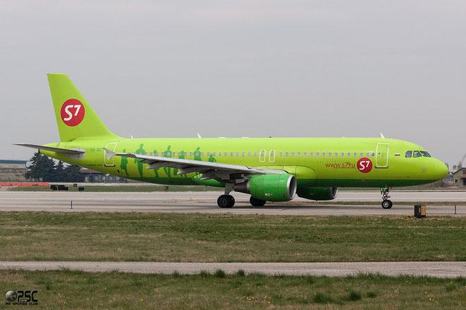 VQ-BET A320-214 4150 S7 Airlines @ Aeroporto di Verona © Piti Spotter Club Verona