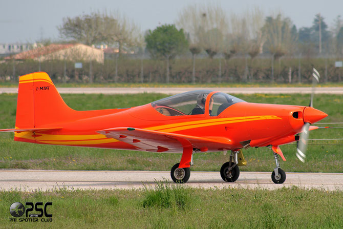 I-MIKI - Aviamilano 1958 @ Aeroporto di Verona © Piti Spotter Club Verona