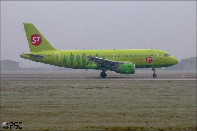 VP-BTX A319-114 1091 S7 Airlines @ Aeroporto di Verona © Piti Spotter Club Verona