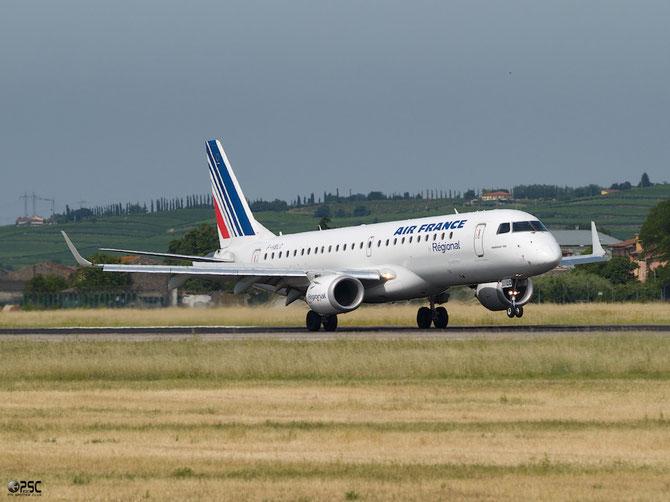 Embraer 190/195 - MSN 80 - F-HBLC  @ Aeroporto di Verona © Piti Spotter Club Verona