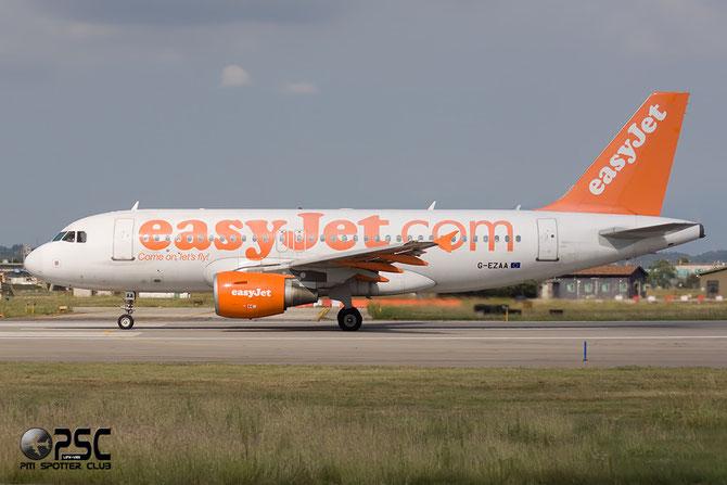 Airbus A319 - MSN 2677 - G-EZAA @ Aeroporto di Verona © Piti Spotter Club Verona