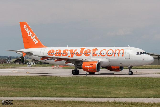 G-EZFM A319-111 4069 EasyJet Airline @ Aeroporto di Verona © Piti Spotter Club Verona