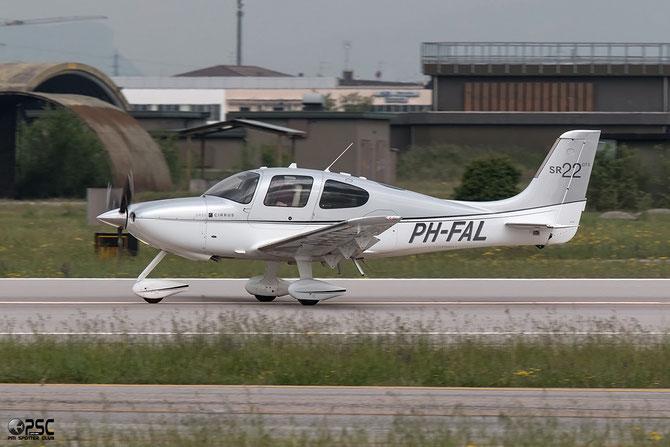 PH-FAL - Private Cirrus SR22 GTS @ Aeroporto di Verona © Piti Spotter Club Verona