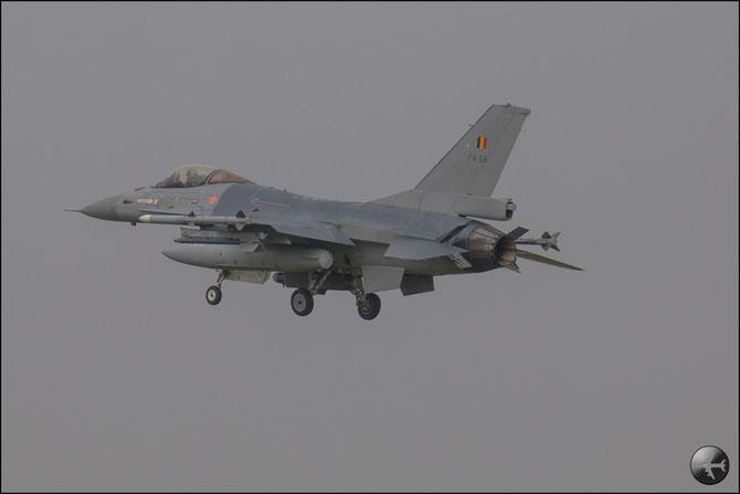 Belgium - FA56 F-16AM 6H-56 10w