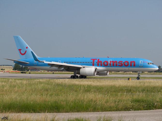 Boeing 757 - MSN 32447 - G-OOBB  @ Aeroporto di Verona © Piti Spotter Club Verona