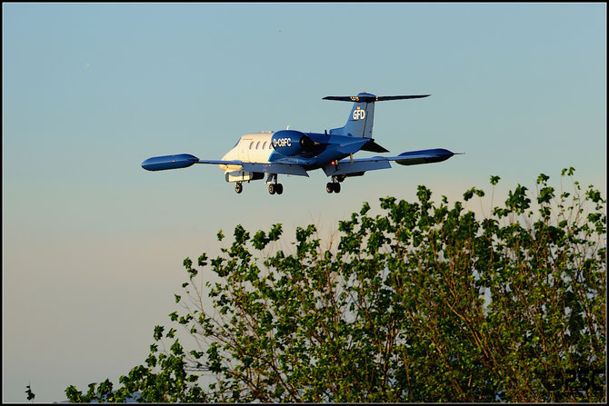 D-CGFC Learjet 35A 35A-331 GFD-Gesellschaft für Flugzieldarstellung