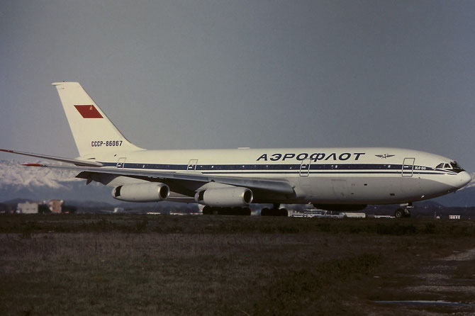51483204034 Il-86 CCCP-86067 AFL/International (Aeroflot)