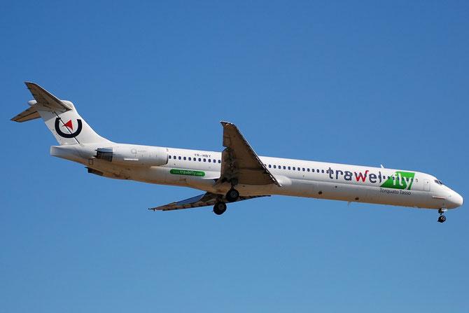 YR-HBY McDonnell Douglas MD-80/90 - MSN 49950 - YR-HBY (Trawelfly c/s)
