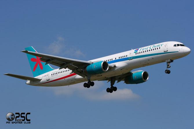 Boeing 757 - MSN 33099 - G-OOBD @ Aeroporto di Verona © Piti Spotter Club Verona