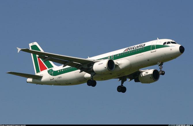 I-BIKC A320-214 1448 Alitalia @ Aeroporto di Verona © Piti Spotter Club Verona