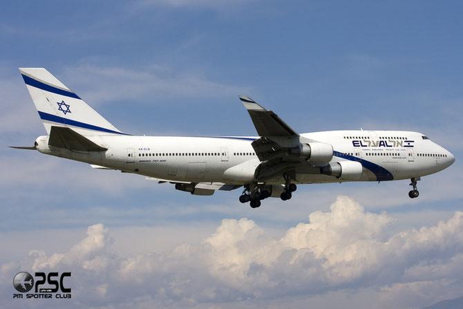 4X-ELB B747-458 26056/1032 El Al Israel Airlines
