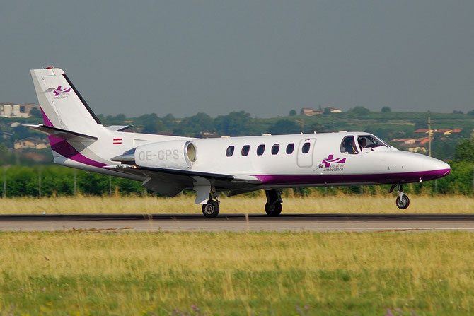 OE-GPS Ce550 Bravo 550-0837 Tyrolean Jet Ambulance