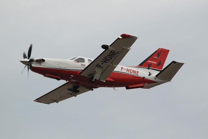 F-HONE TBM-850 649 Abalone European Aviation Sas @ Aeroporto di Verona © Piti Spotter Club Verona