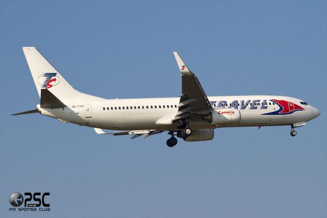 OK-TVP B737-8K5 32907/1117 Travel Service @ Aeroporto di Verona © Piti Spotter Club Verona