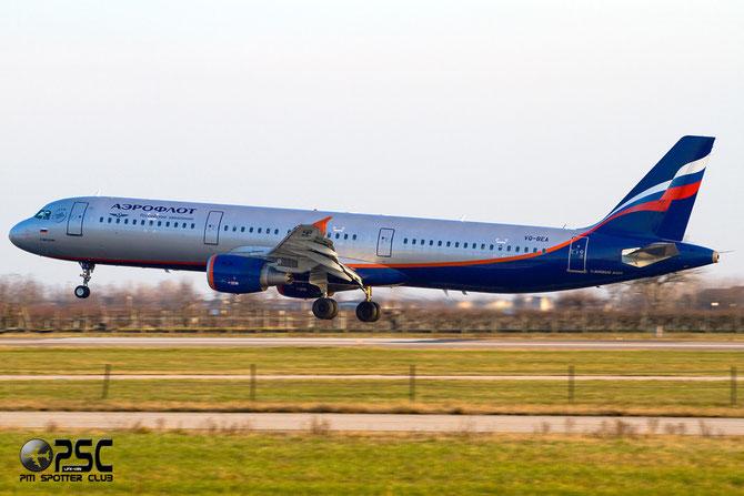 Airbus A321 - MSN 4058 - VQ-BEA  @ Aeroporto di Verona © Piti Spotter Club Verona