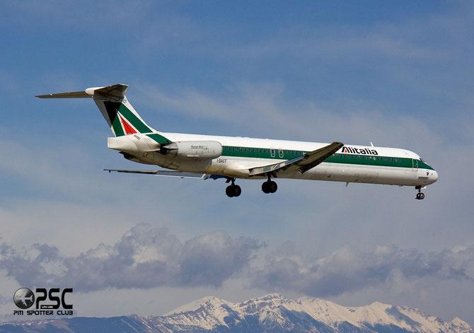 McDonnell Douglas MD-80/90 - MSN 53054 - I-DACT  @ Aeroporto di Verona © Piti Spotter Club Verona