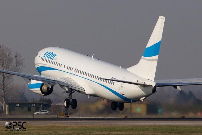 SP-ENW B737-86J 28073/200 Enter Air @ Aeroporto di Verona © Piti Spotter Club Verona