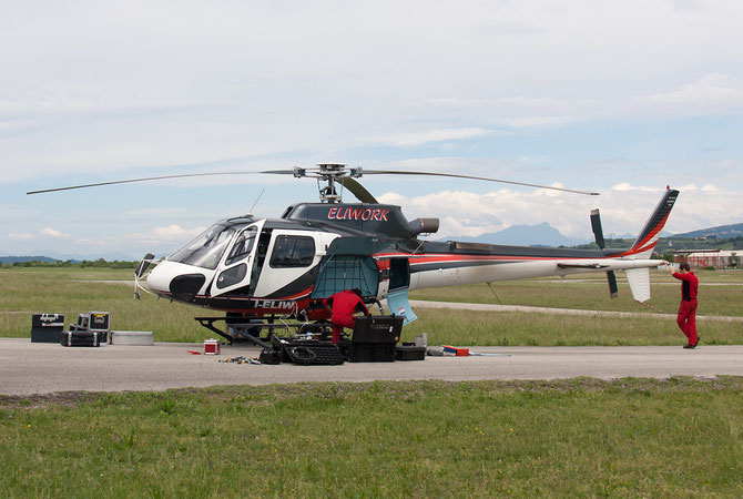 I-ELIW -  Eurocopter AS350 Ecureuil / Squirrel