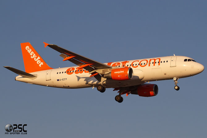 Airbus A320 - MSN 4554 - G-EZTY  @ Aeroporto di Verona © Piti Spotter Club Verona