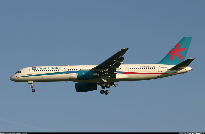 G-OOBA B757-28A 32446/950 First Choice Airways @ Aeroporto di Verona © Piti Spotter Club Verona