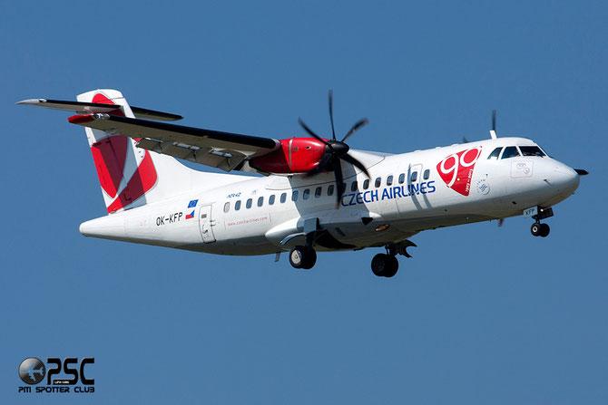 OK-KFP ATR42-500 639 CSA Czech Airlines
