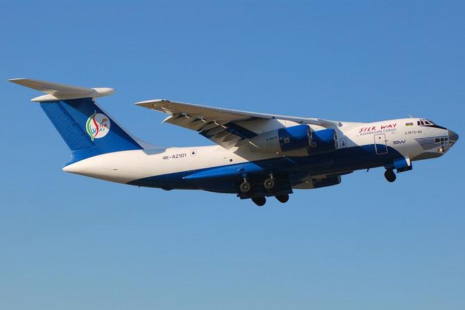 4K-AZ101 Ilyushin Il-76TD-90VD IL76 2073421716 93-09 Silk Way Airlines @ Aeroporto di Verona © Piti Spotter Club Verona