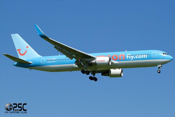 Boeing 767 - MSN 28883 - G-OBYH @ Aeroporto di Verona © Piti Spotter Club Verona