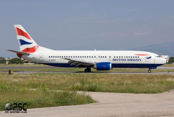 Boeing 737 - MSN 25858 - G-DOCZ @ Aeroporto di Verona © Piti Spotter Club Verona