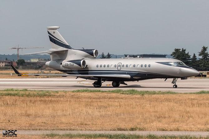CS-TLY Falcon 7X 15 Vinair Aeroservicios SA - @ Aeroporto di Verona © Piti Spotter Club Verona