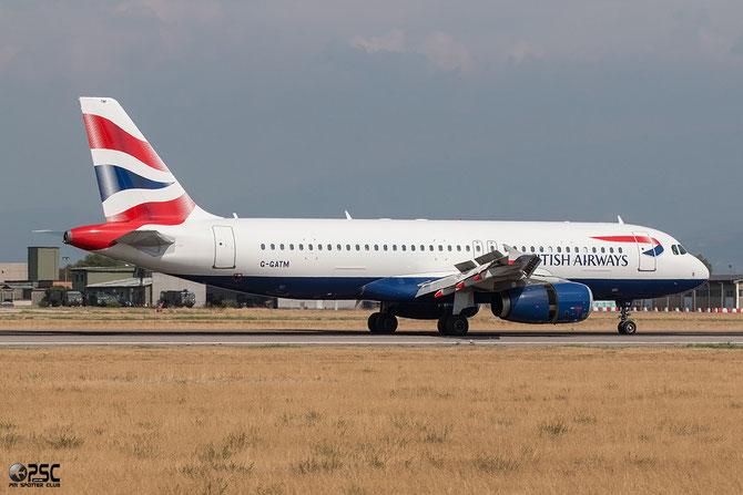 G-GATM A320-232 1892 British Airways @ Aeroporto di Verona © Piti Spotter Club Verona
