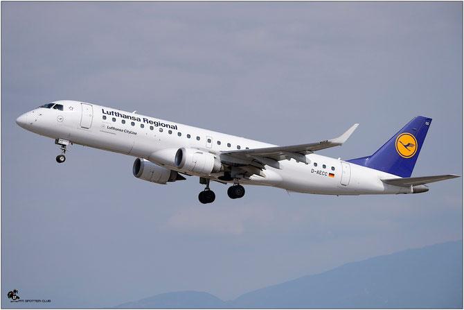 D-AECC ERJ190LR 19000333 Lufthansa CityLine @ Aeroporto di Verona © Piti Spotter Club Verona
