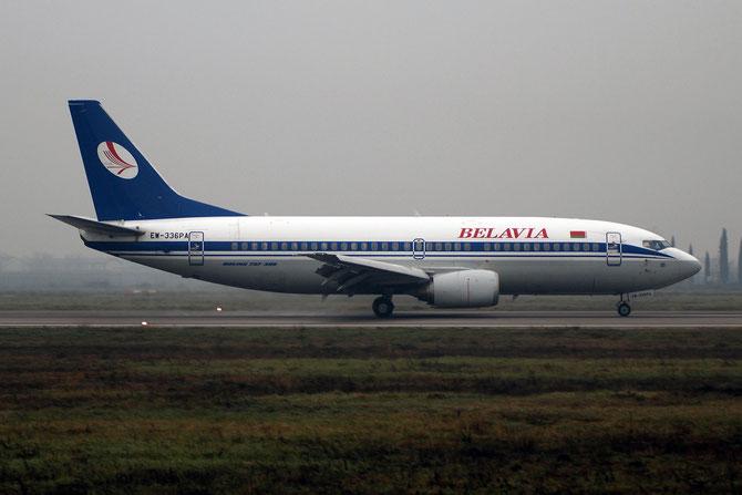 EW-336PA B737-3Q8 26312/2693 Belavia - Belarusian Airlines @ Aeroporto di Verona - 2016 © Piti Spotter Club Verona