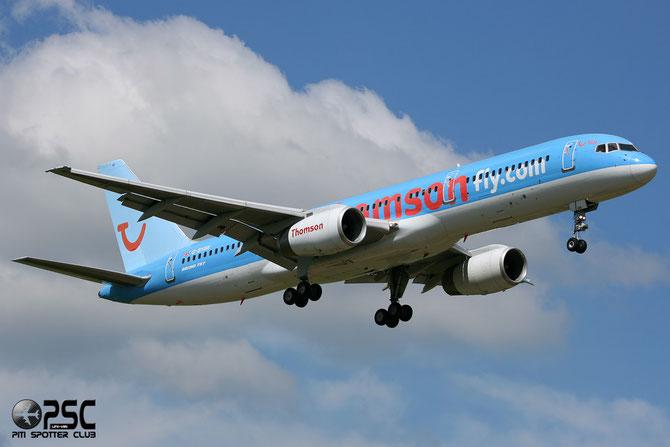 Boeing 757 - MSN 27234 - G-BYAW  @ Aeroporto di Verona © Piti Spotter Club Verona