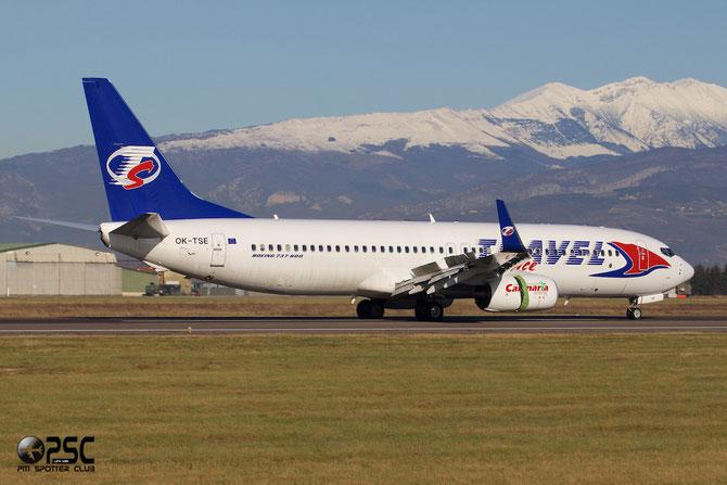 OK-TSE 737-81D 39437/4775 Travel Service @ Aeroporto di Verona © Piti Spotter Club Verona