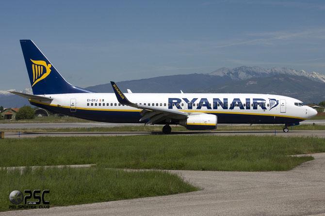 Boeing 737 Next Gen - MSN 36572 - EI-DYJ  @ Aeroporto di Verona © Piti Spotter Club Verona