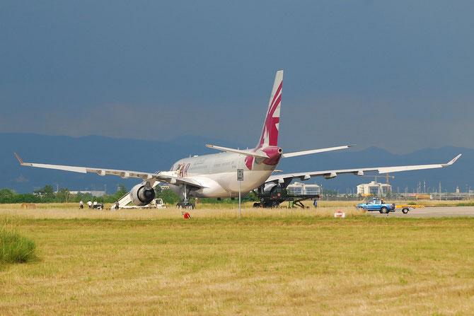 A7-HJJ A330-202 487 Government of Qatar - Qatar Airways Amiri Flight