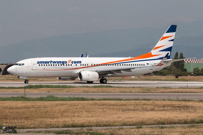 OK-TVW B737-86Q 30295/1600 SmartWings @ Aeroporto di Verona © Piti Spotter Club Verona