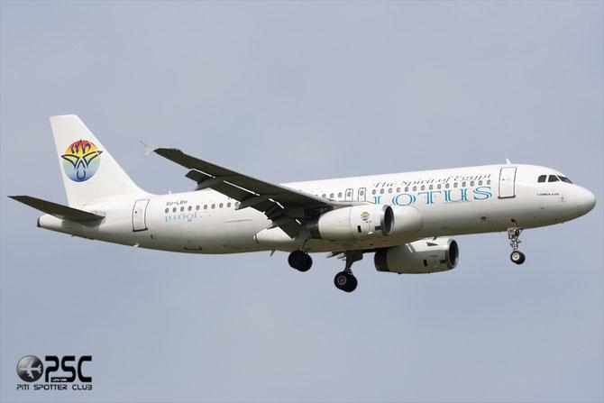 SU-LBH A320-233 739 Lotus Air