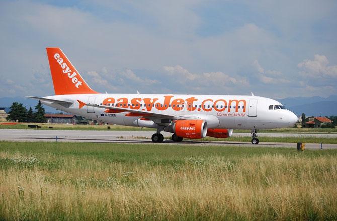 G-EZDB A319-111 3411 EasyJet Airline