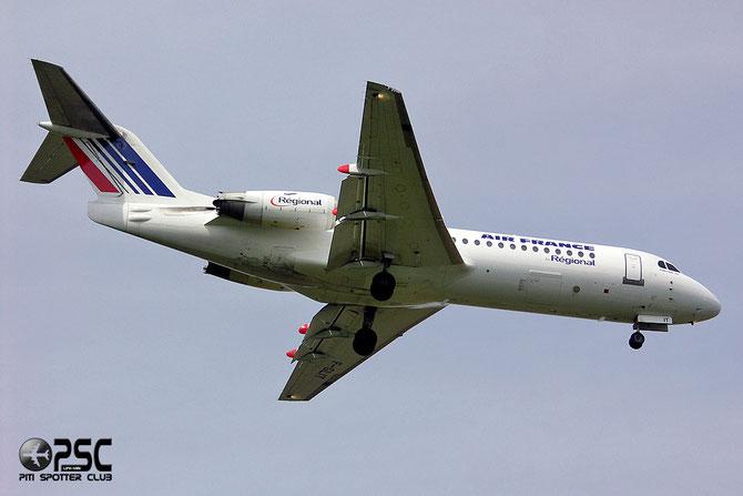 Fokker 70/100 - MSN 11541 - F-GLIT @ Aeroporto di Verona © Piti Spotter Club Verona