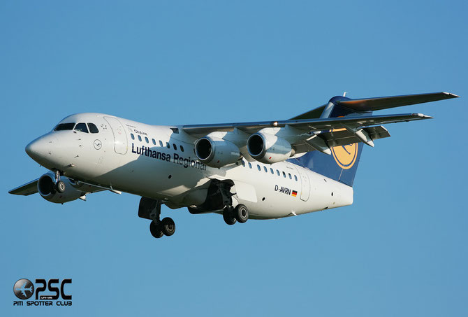 BAe 146 / Avro RJ - MSN 2293 - D-AVRN @ Aeroporto di Verona © Piti Spotter Club Verona