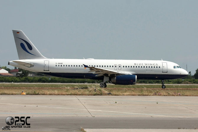 D-ANND A320-232 1546 Blue Wings