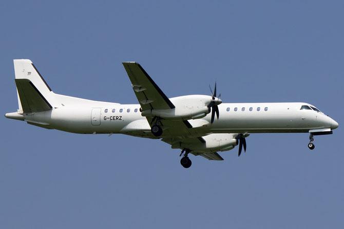 G-CERZ Saab 2000 2000-042 Eastern Airways @ Aeroporto di Verona © Piti Spotter Club Verona