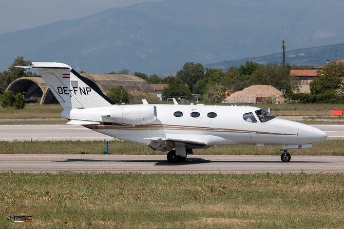 OE-FNP Ce510 510-0185 GlobeAir AG @ Aeroporto di Verona - 2016 © Piti Spotter Club Verona