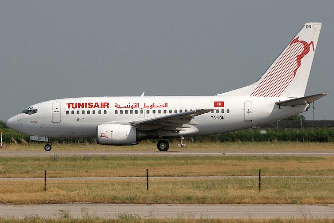 TS-ION B737-6H3 29499/510 Tunis Air @ Aeroporto di Verona © Piti Spotter Club Verona