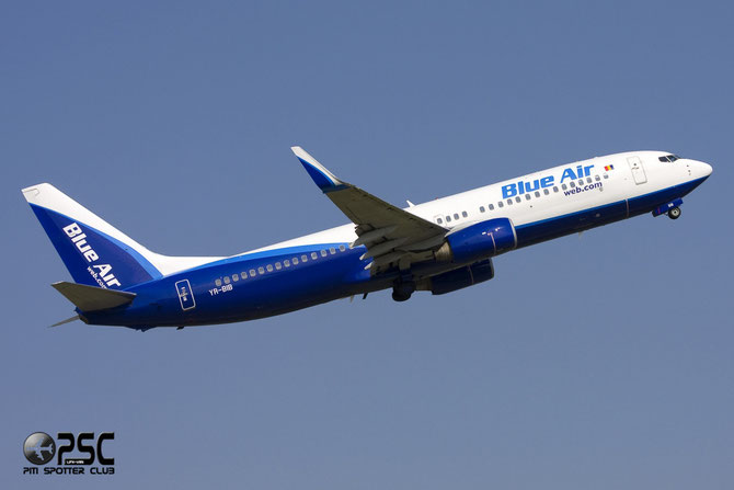 YR-BIB B737-8AS 29926/722 Blue Air